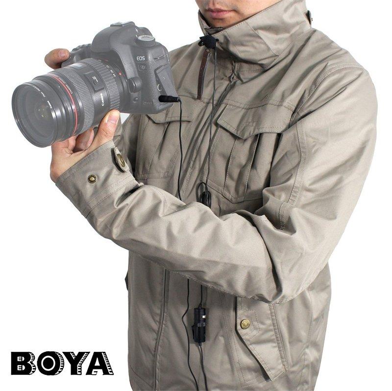 BOYA BY-M1 手機/相機 TRRS/TRS 3.5mm 通用款領夾麥克風