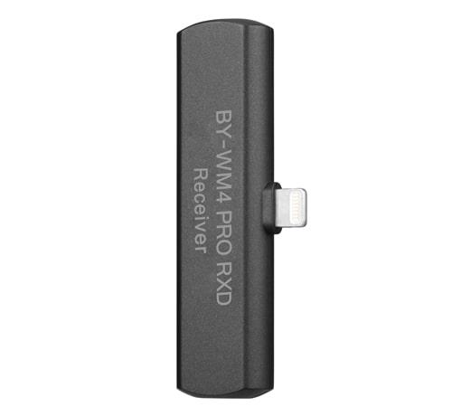 BOYA BY-WM4 Pro-K3 一對一 2.4G 無線麥克風系統 iOS系統 LIGHTNING接頭 可監聽