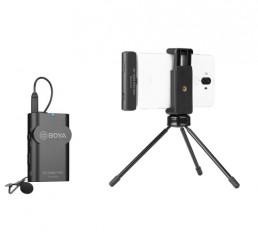 BOYA BY-WM4 Pro-K5 一對一 2.4G 無線麥克風系統 USB Type-C裝置