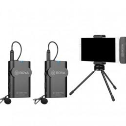 BOYA BY-WM4 PRO K6 一對二 2.4G  無線麥克風系統 USB Type-C裝置